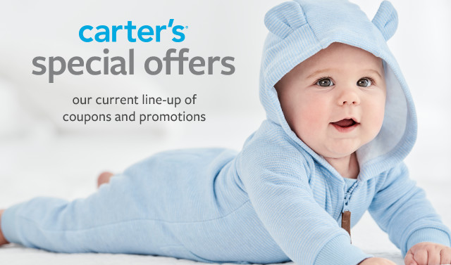 Coupon Codes, Promos & Printable Coupons | Carter's | Free ...