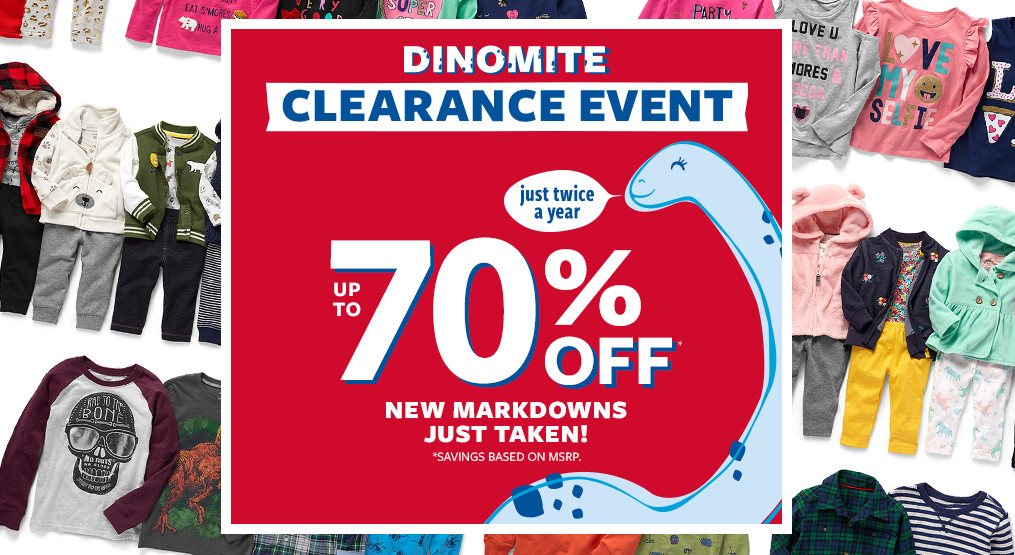 dinomite clearance event | up tp 70% off clearance