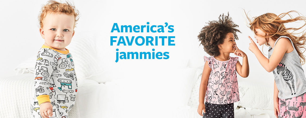 8352da300e4a The PJ Shop. Destination Dreamland - America's Favorite Jammies| Girls and  Boys Sizes NB - 14 | Sizes ...