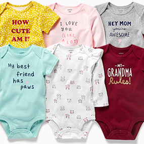 5be124761b Baby Girl | Carter's | Free Shipping