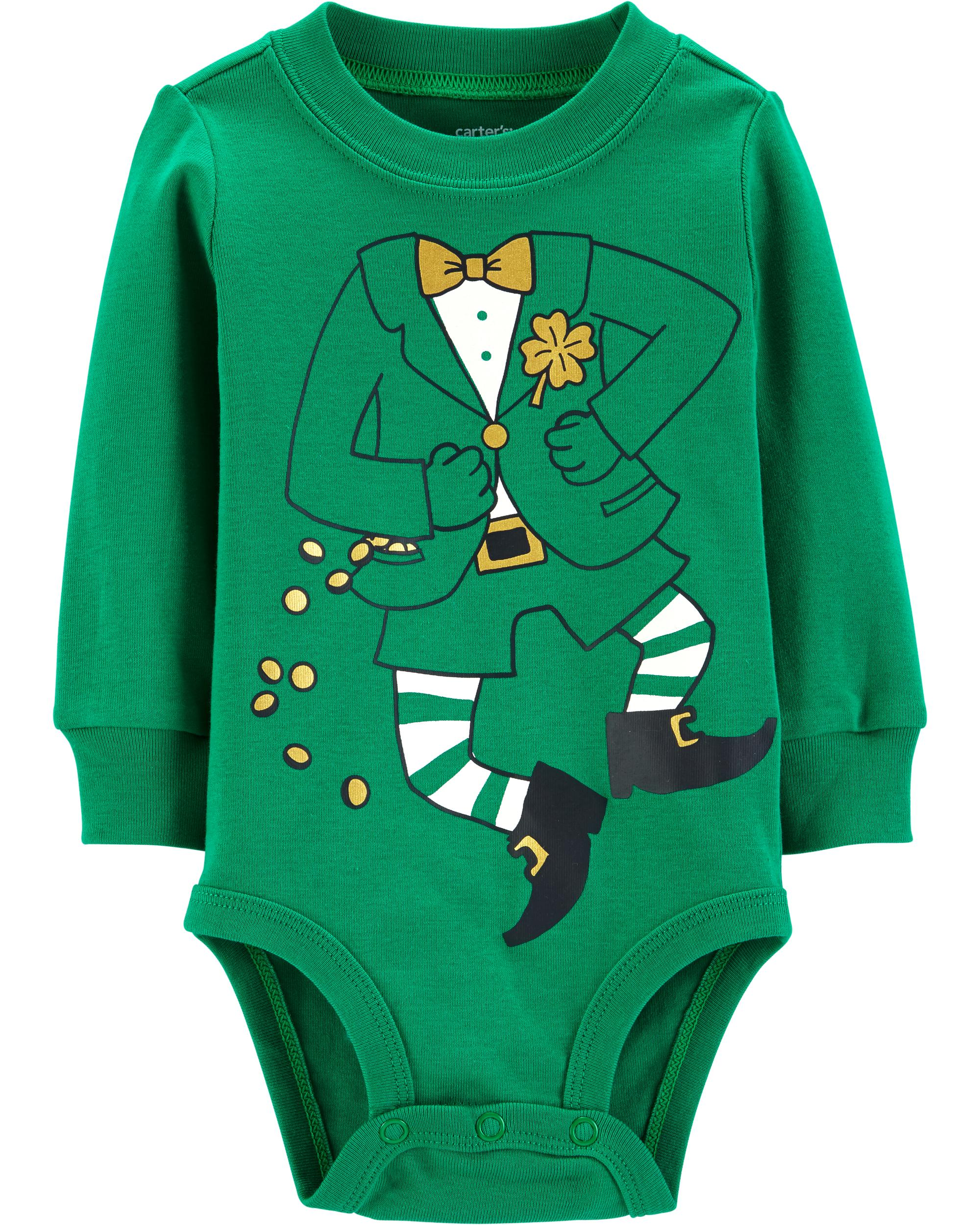 St Patrick/'s Day Leprechaun Costume All Over Toddler T Shirt