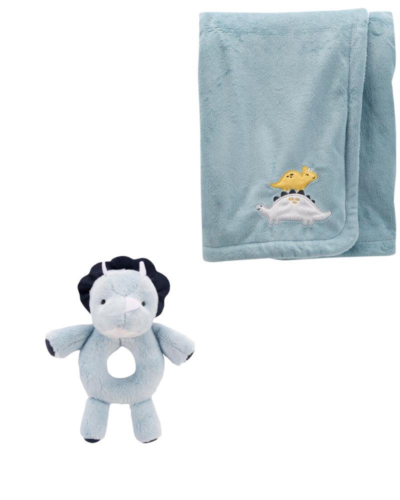 Carters Plush Toy & Blanket Bundle