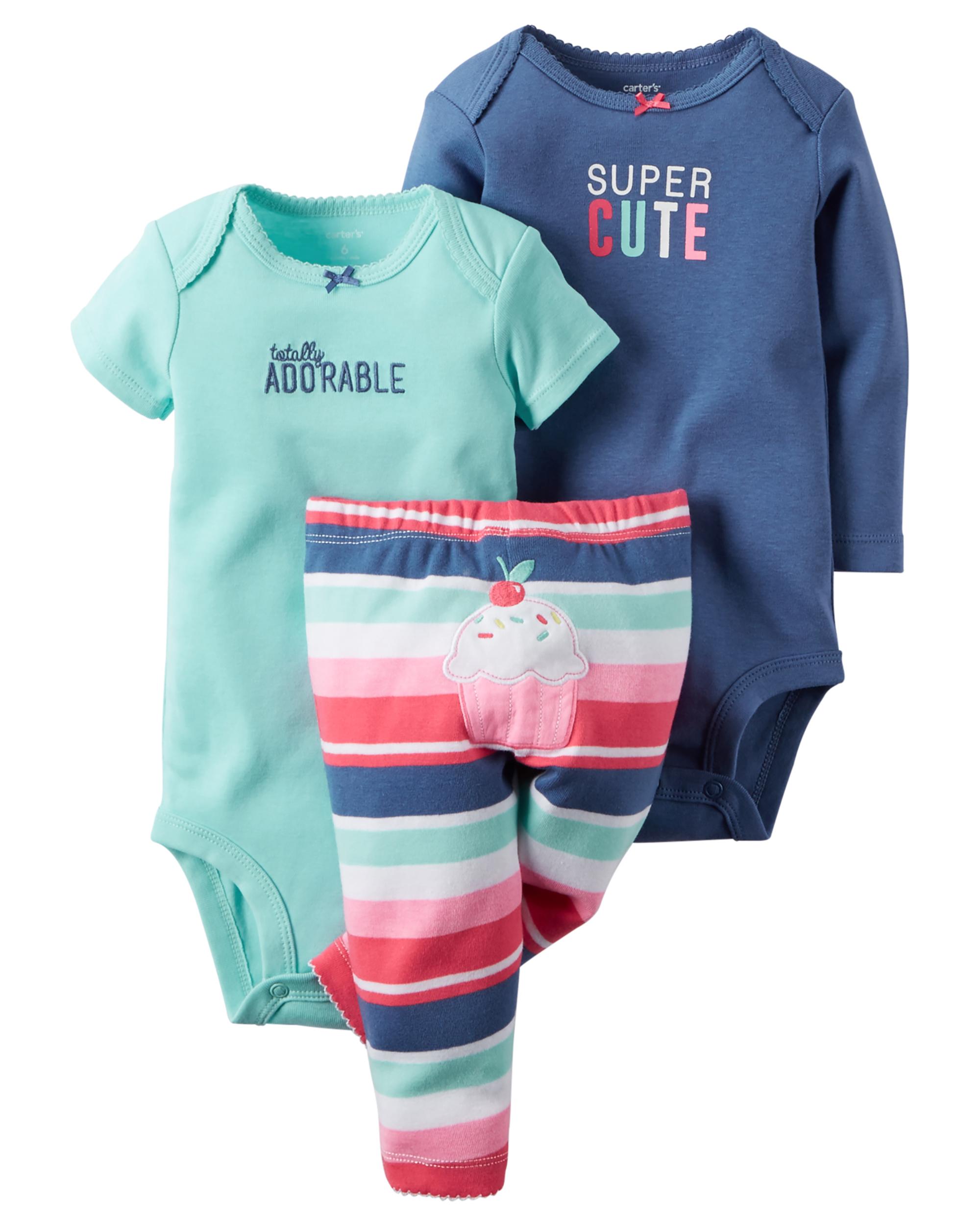 ea34b32c7 3-Piece Bodysuit & Pant Set | carters.com