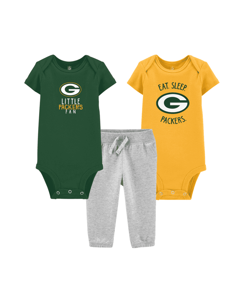 check out 3c123 43702 NFL Green Bay Packers Bundle | carters.com