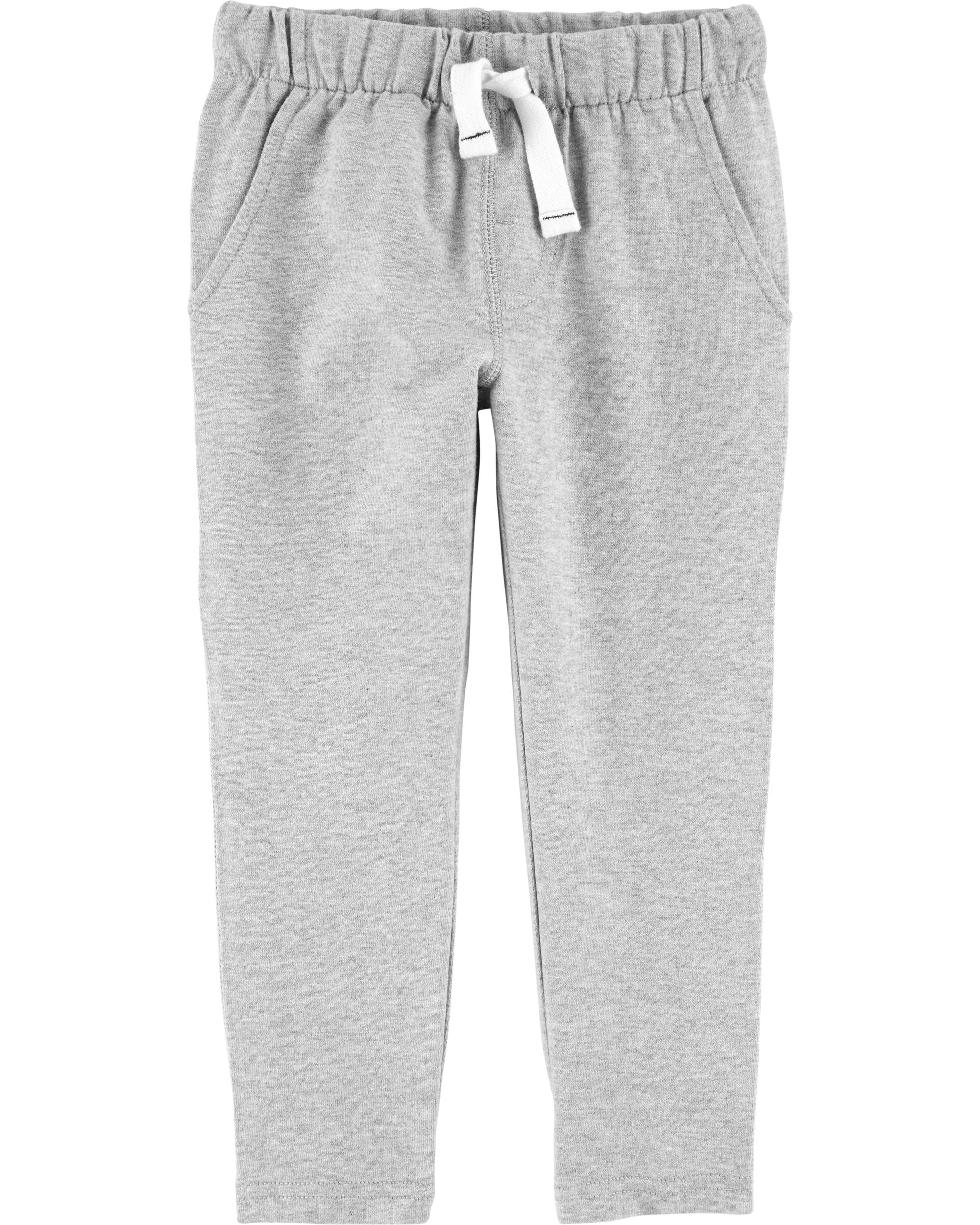 Pull On French Terry Pants |