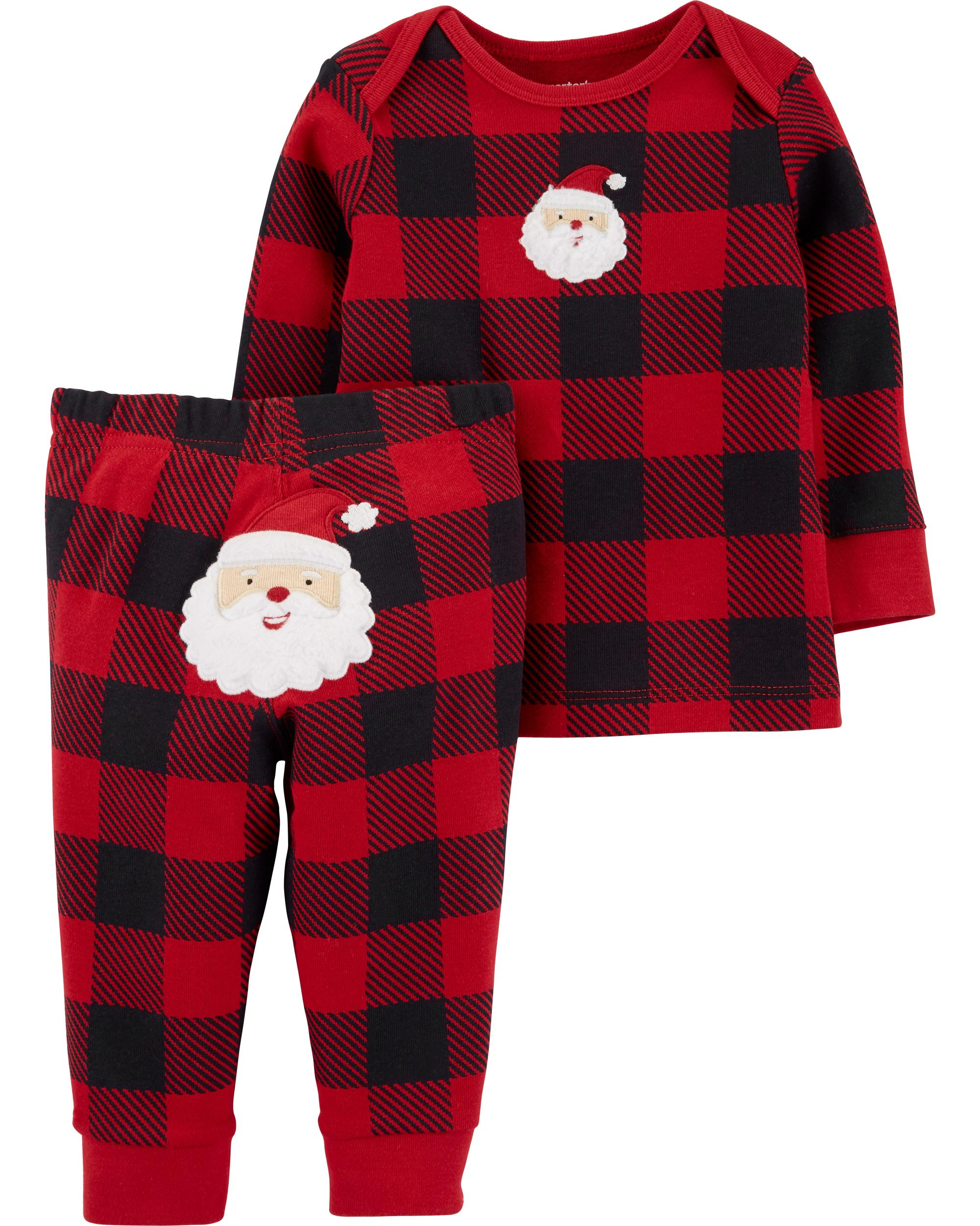 Santa/'s Christmas Elf 4 Piece Baby Clothing Outfit 4 Preemie and Newborn Sizes