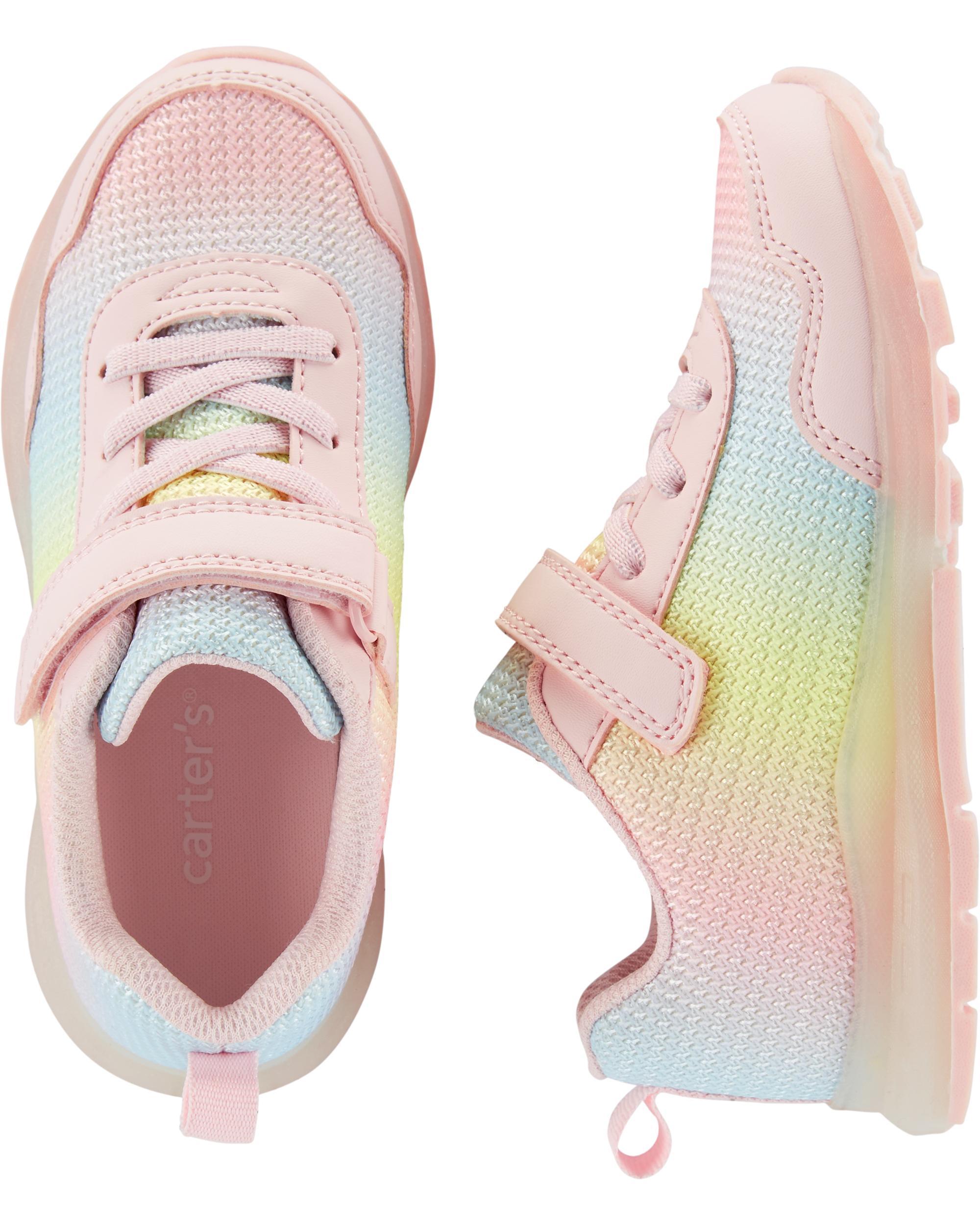 e1d741a1bf Carter's Rainbow Light-Up Sneakers | carters.com