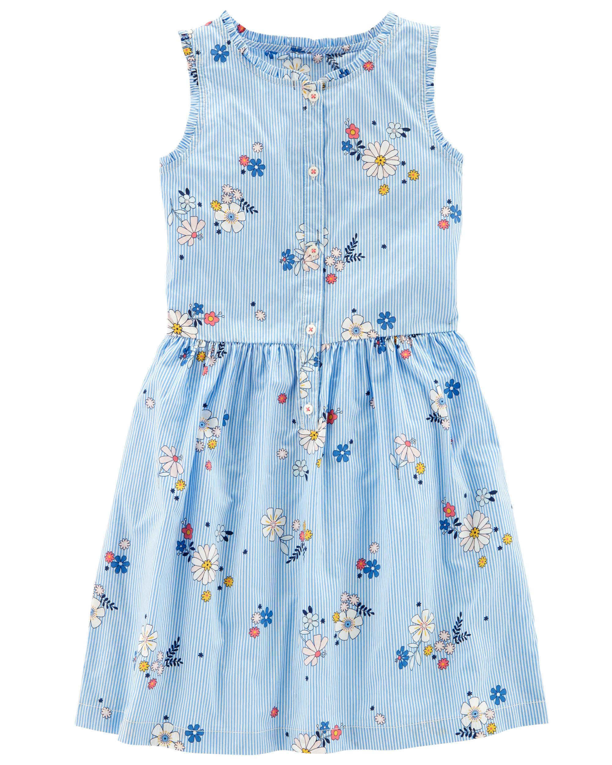 5e00cfc9e8958 Sleeveless Floral Dress | carters.com