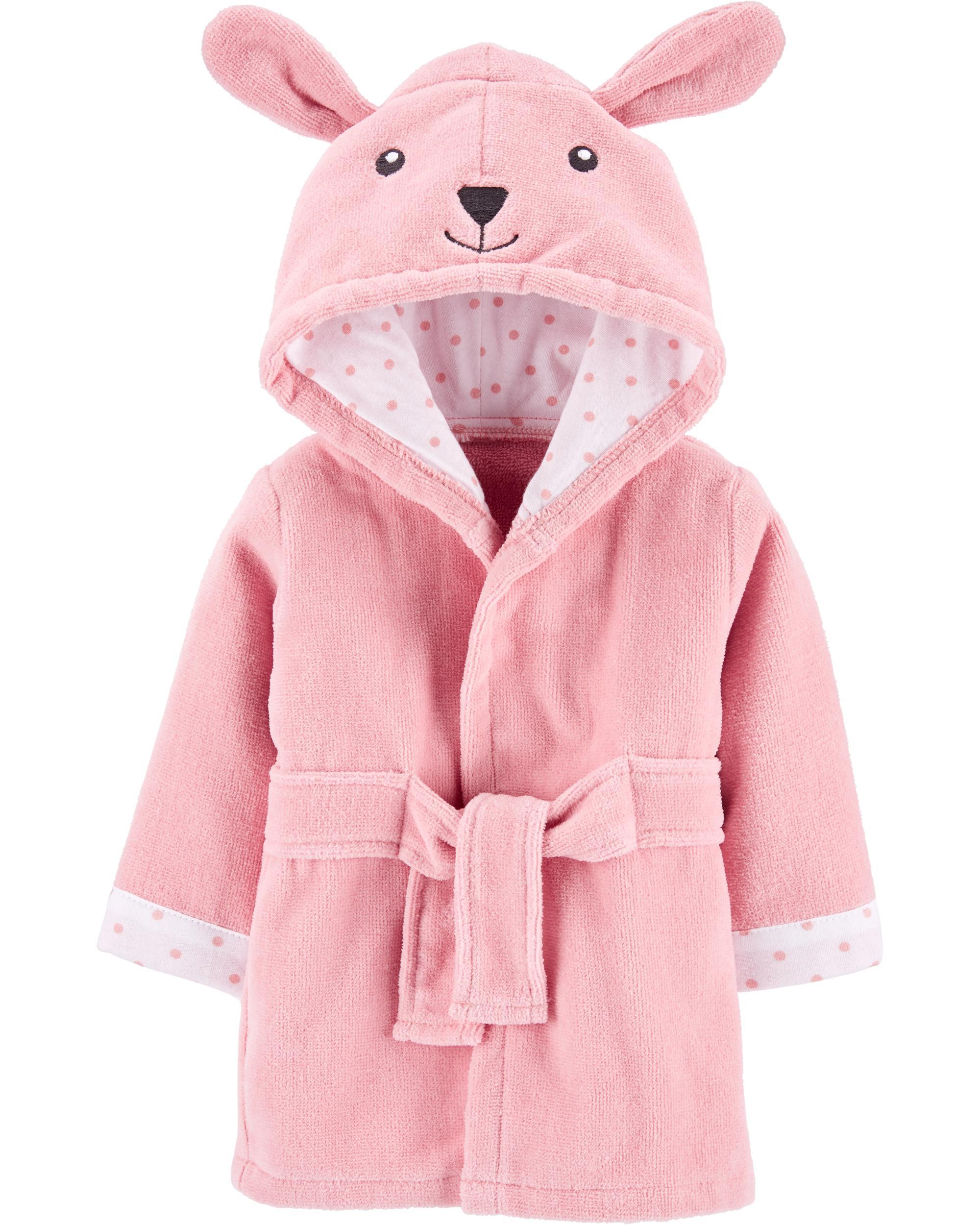 Carters Bunny Hooded Bath Robe