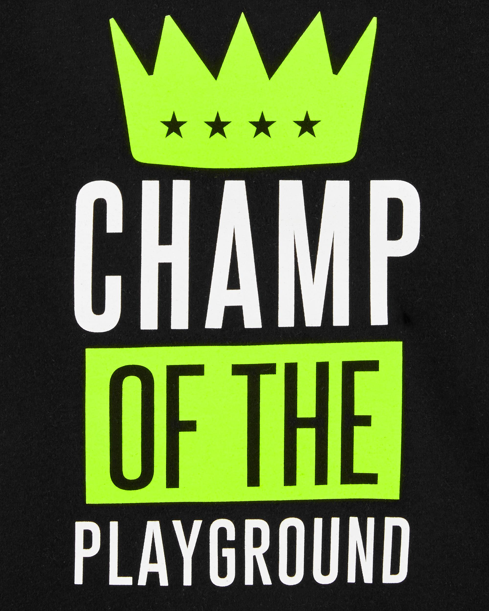 Neon Champ Of The Playground Jersey Tee | carters com