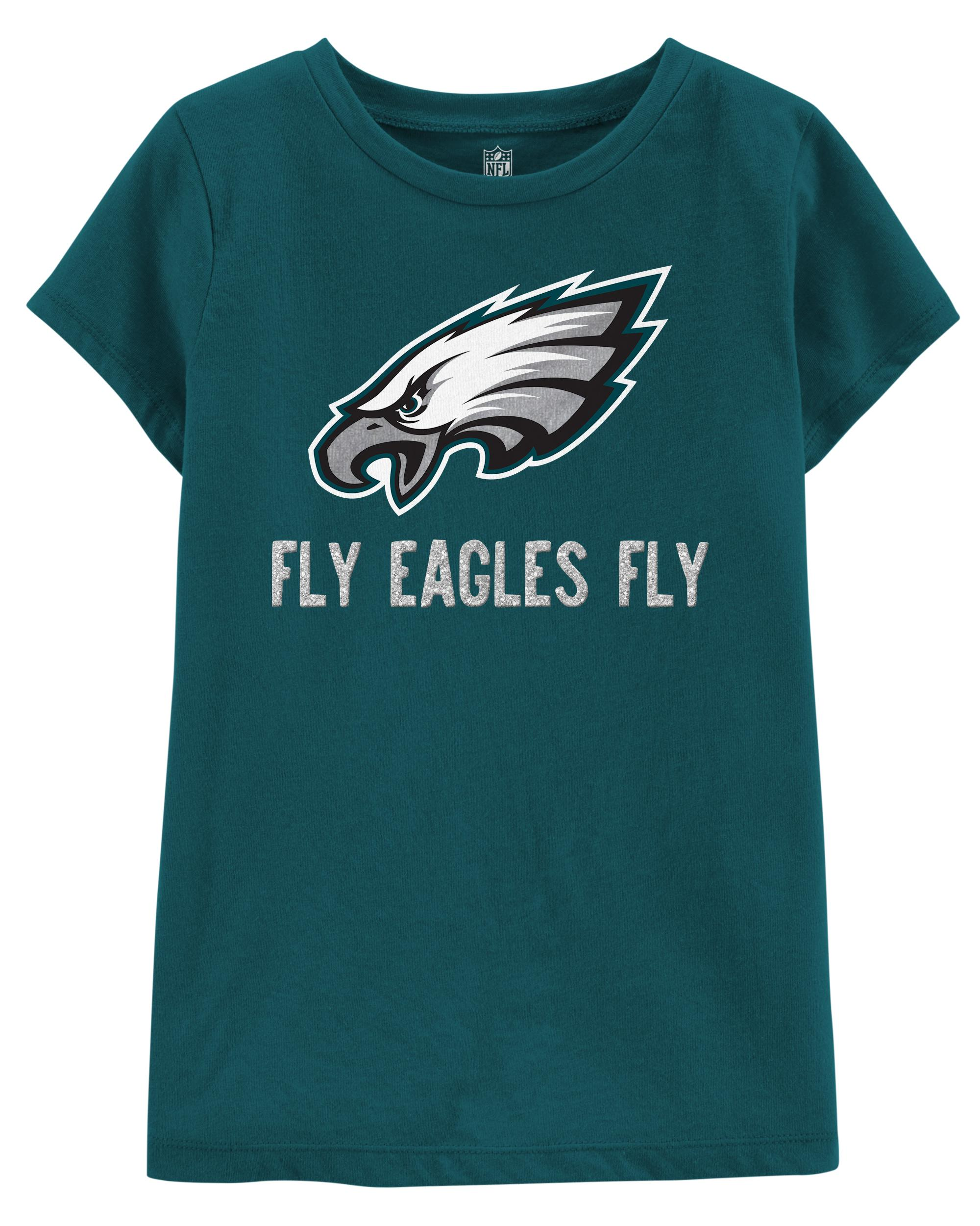 big sale 0c9c0 3b52b NFL Philadelphia Eagles Glitter Tee | carters.com
