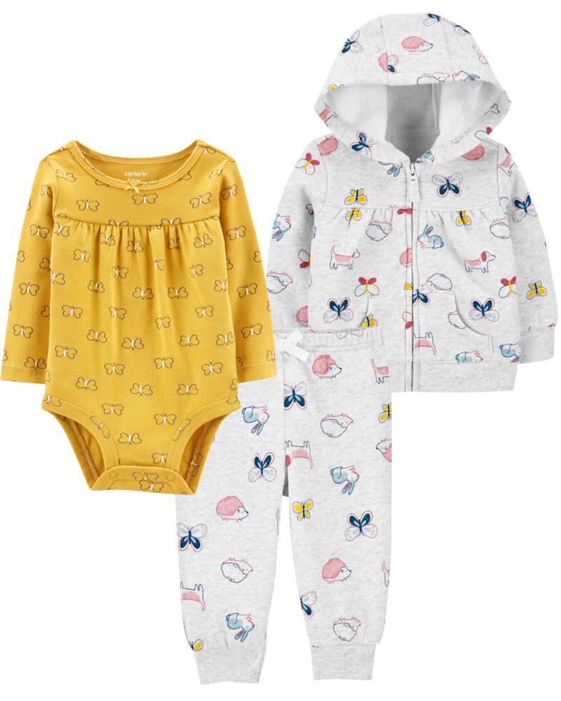 Carters 3-Pack Baby Bundle