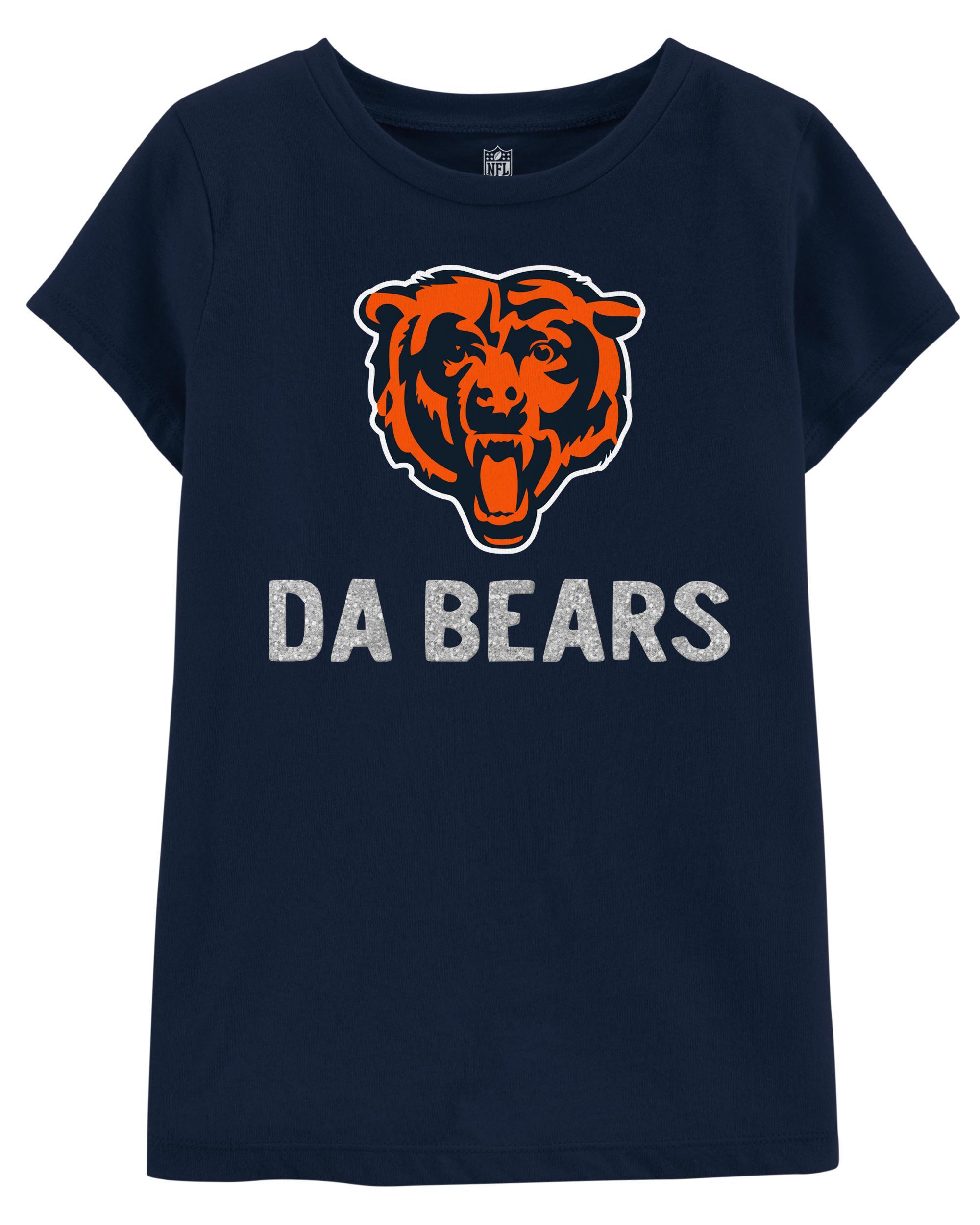 best website a9366 ee3d5 NFL Chicago Bears Glitter Tee | carters.com