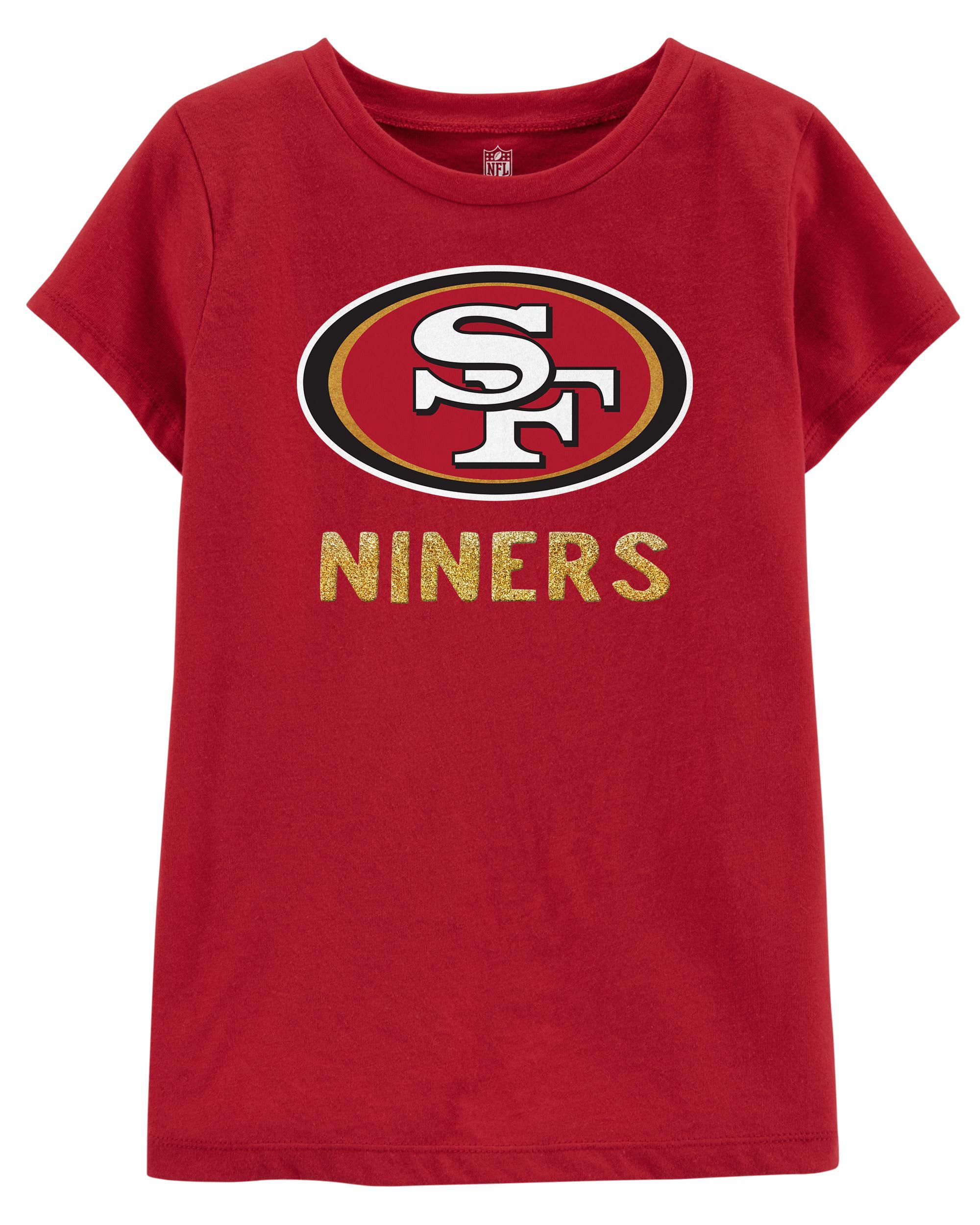 9f1cc742 NFL San Francisco 49ers Glitter Tee | carters.com
