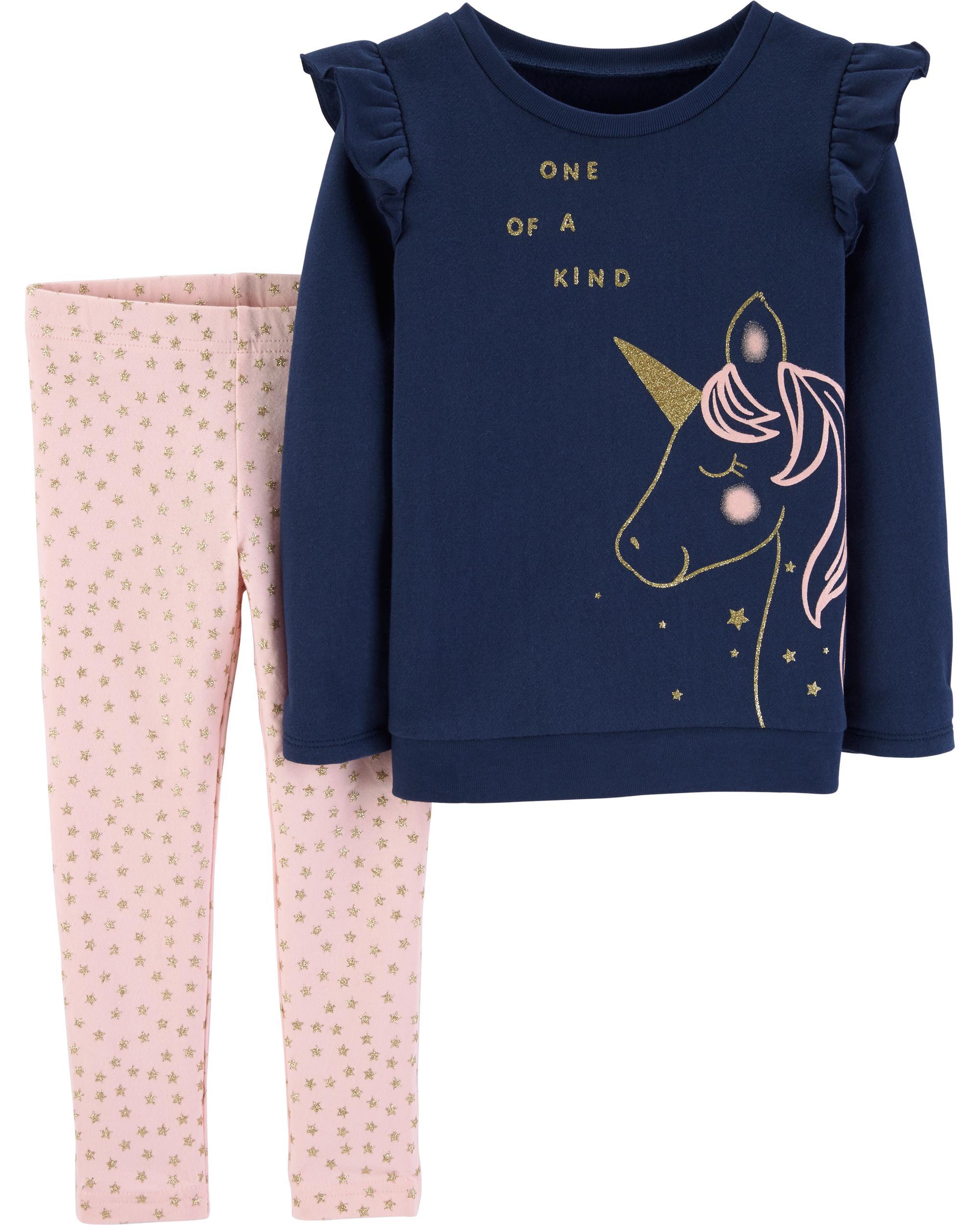 Fineser Toddler Little Boys Girls Cartoon Whale Long Sleeve T-Shirts+Pants Legging 2Pcs Clothes Set