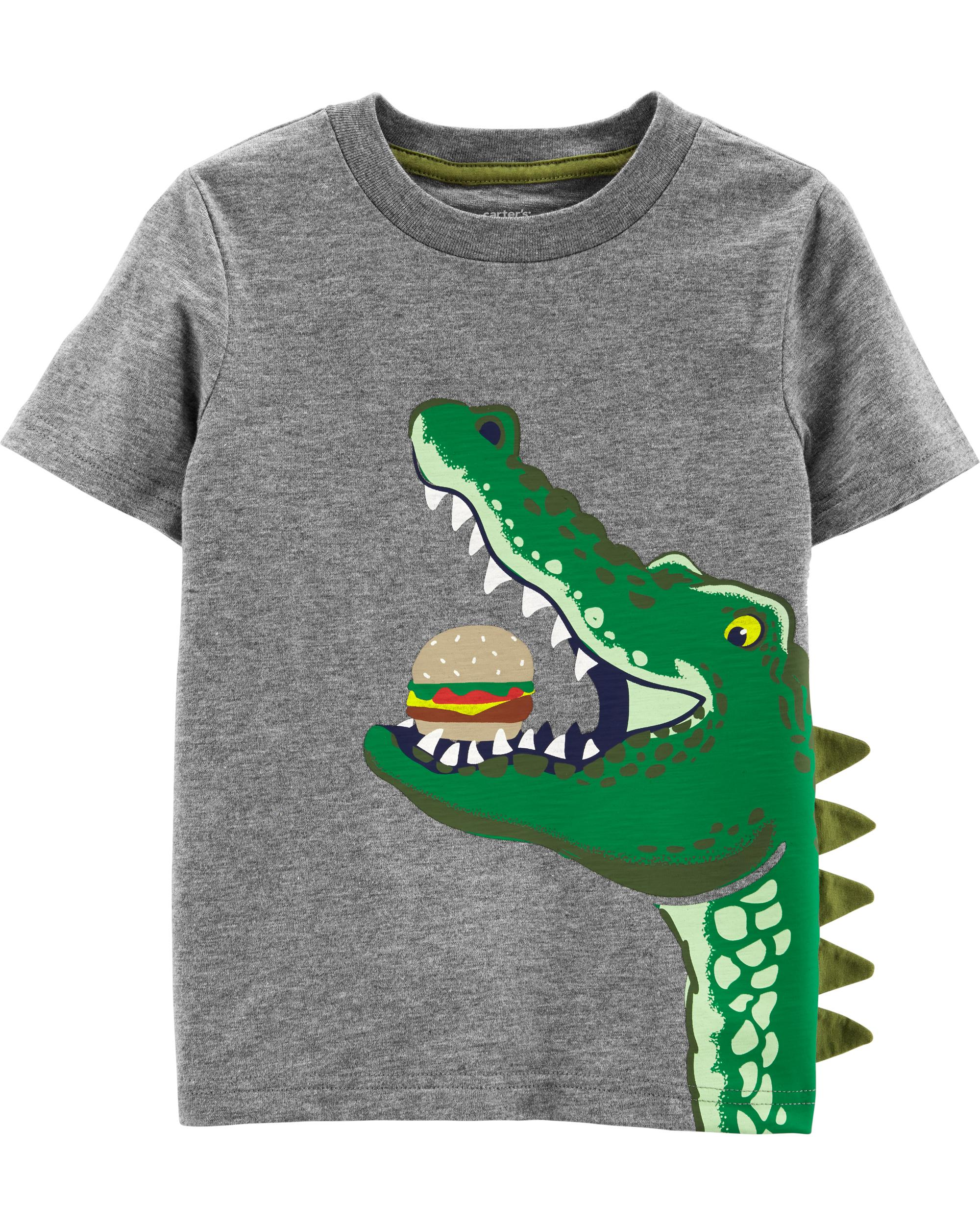 Alligator Hamburger Slub Jersey Tee Carters Com