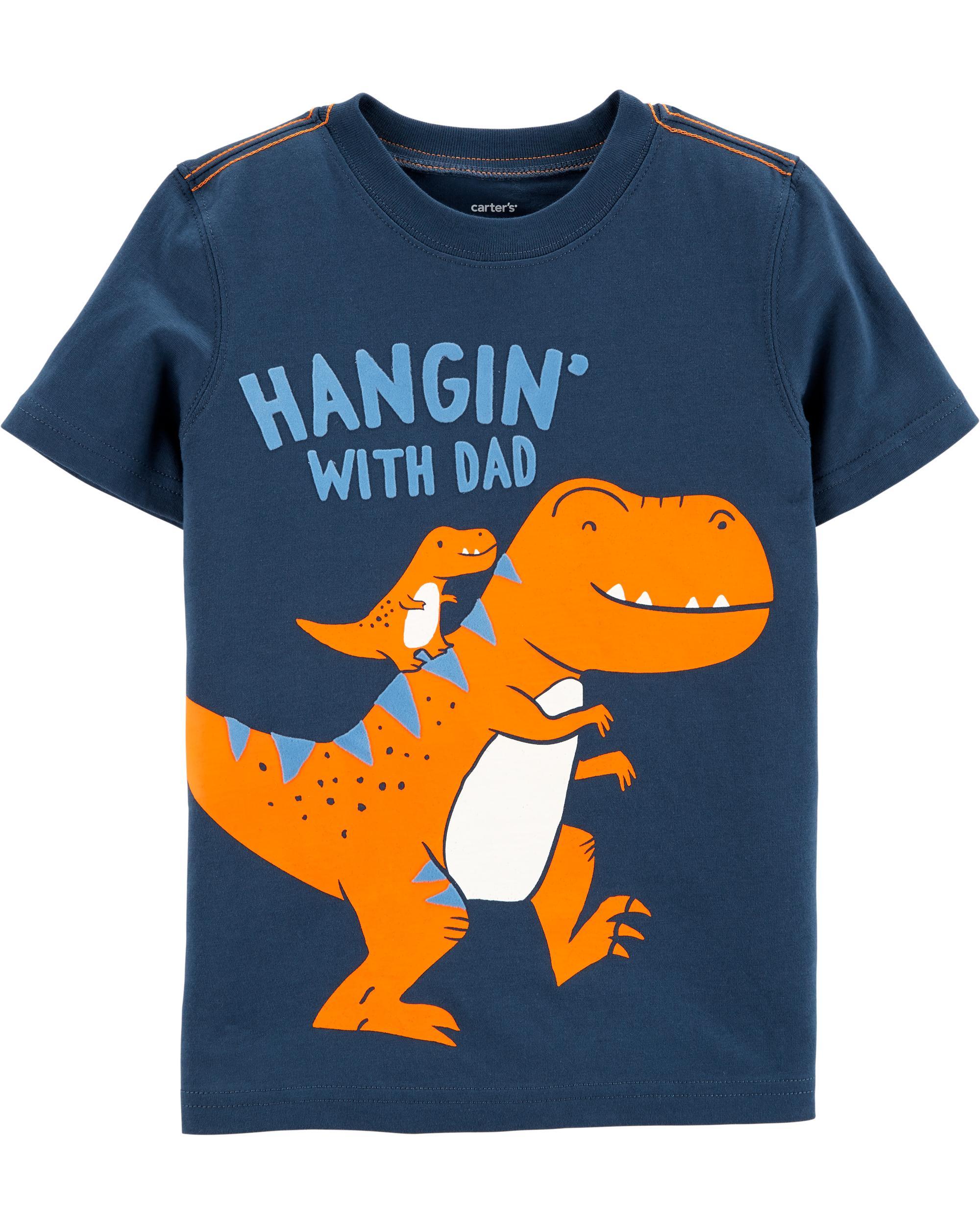 d6da8b8c91e73 Dinosaur Dad Jersey Tee | carters.com