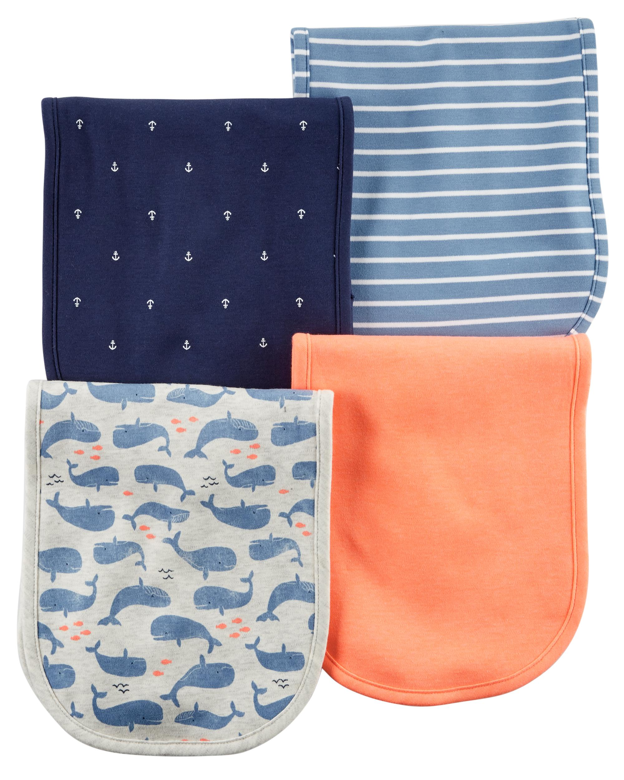 4-Pack Burp Cloths | carters com