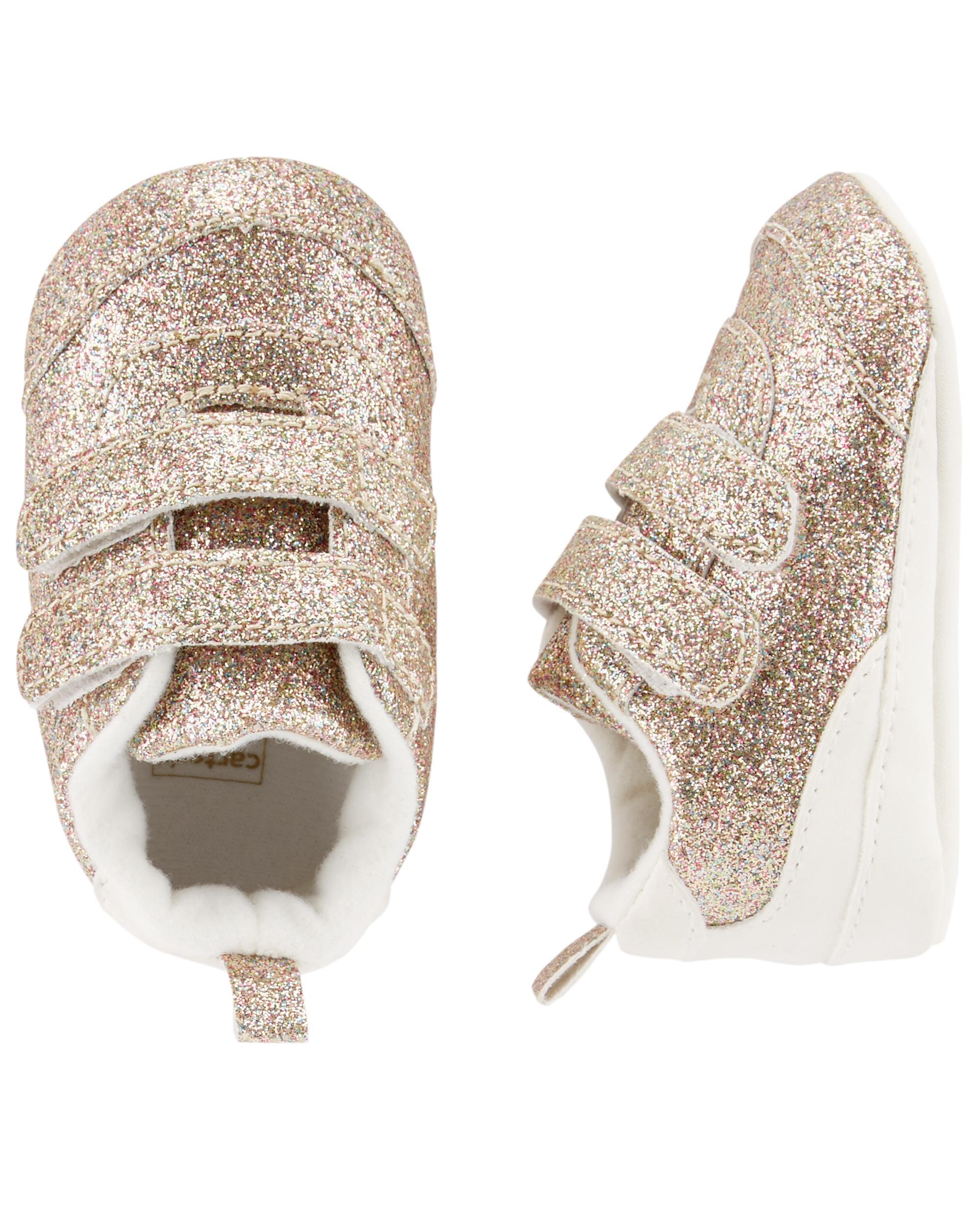 62ecfac50f Carter's Glitter Sneaker Baby Shoes | carters.com