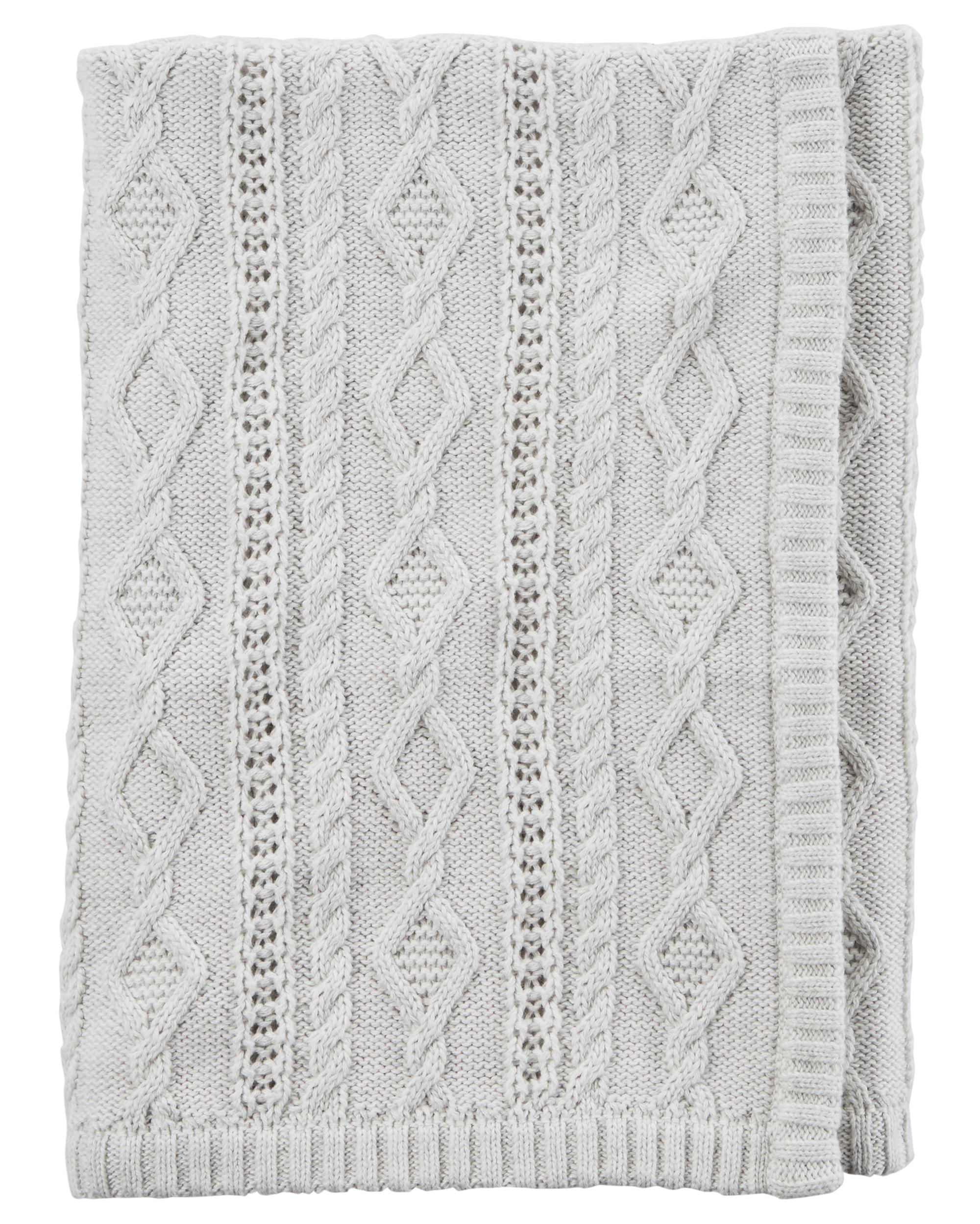 172d2e606 Cable Knit Blanket   carters.com