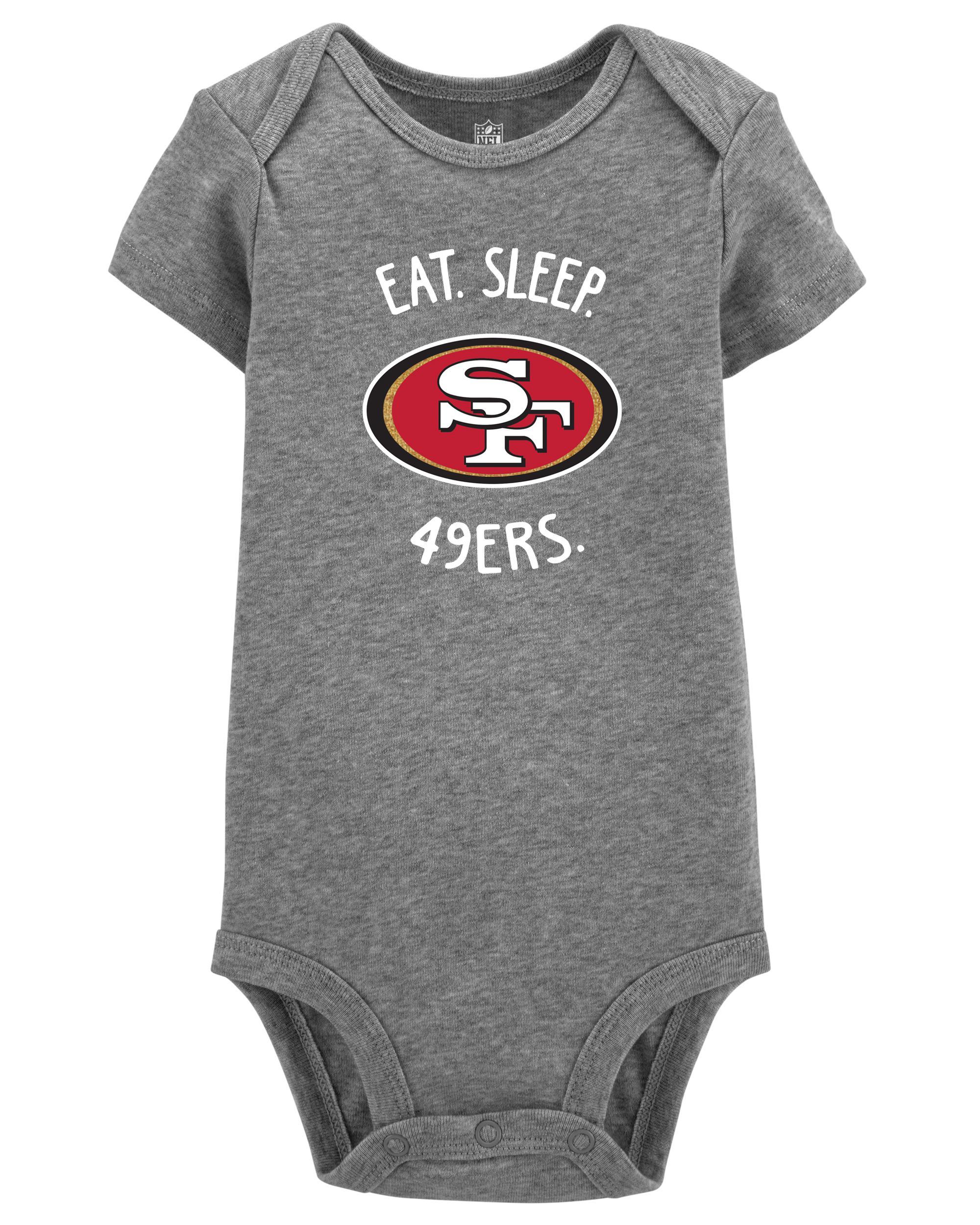 the best attitude 19020 6c17a NFL San Francisco 49ers Bodysuit | carters.com