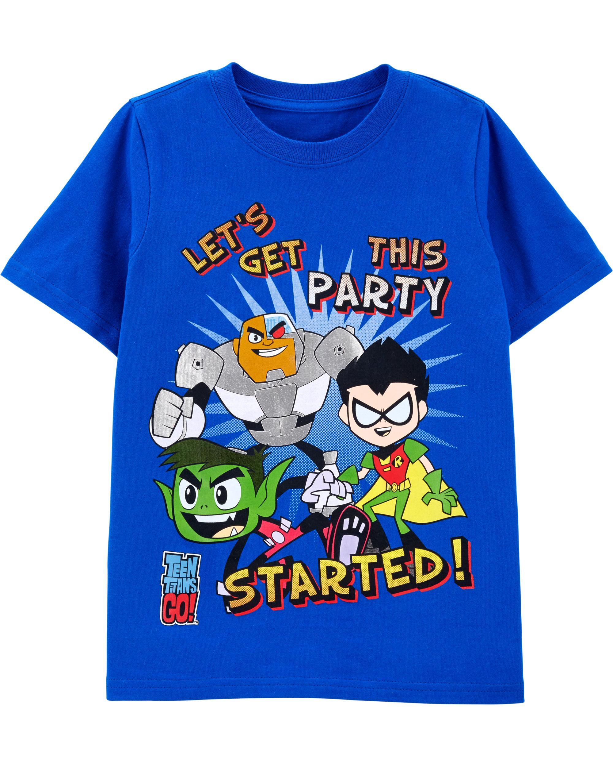 e6849bce Teen Titans GO! Tee | carters.com