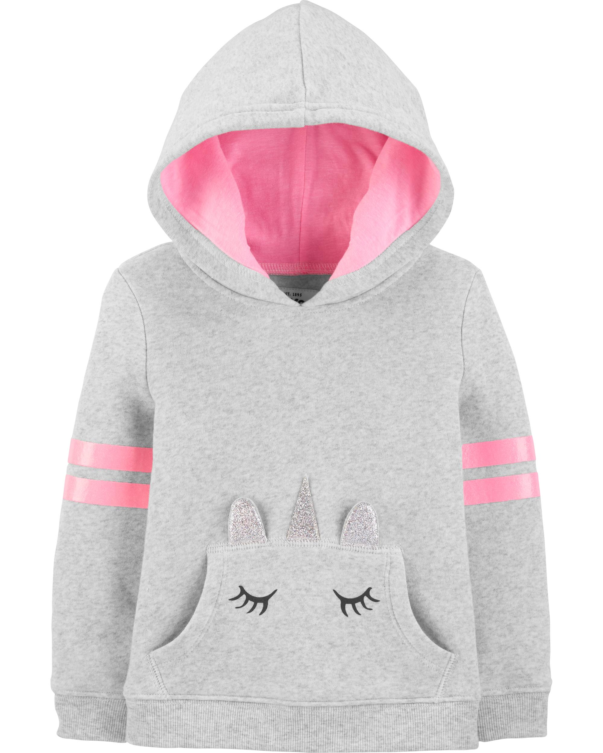 16af40580 Unicorn Pocket Hoodie | carters.com