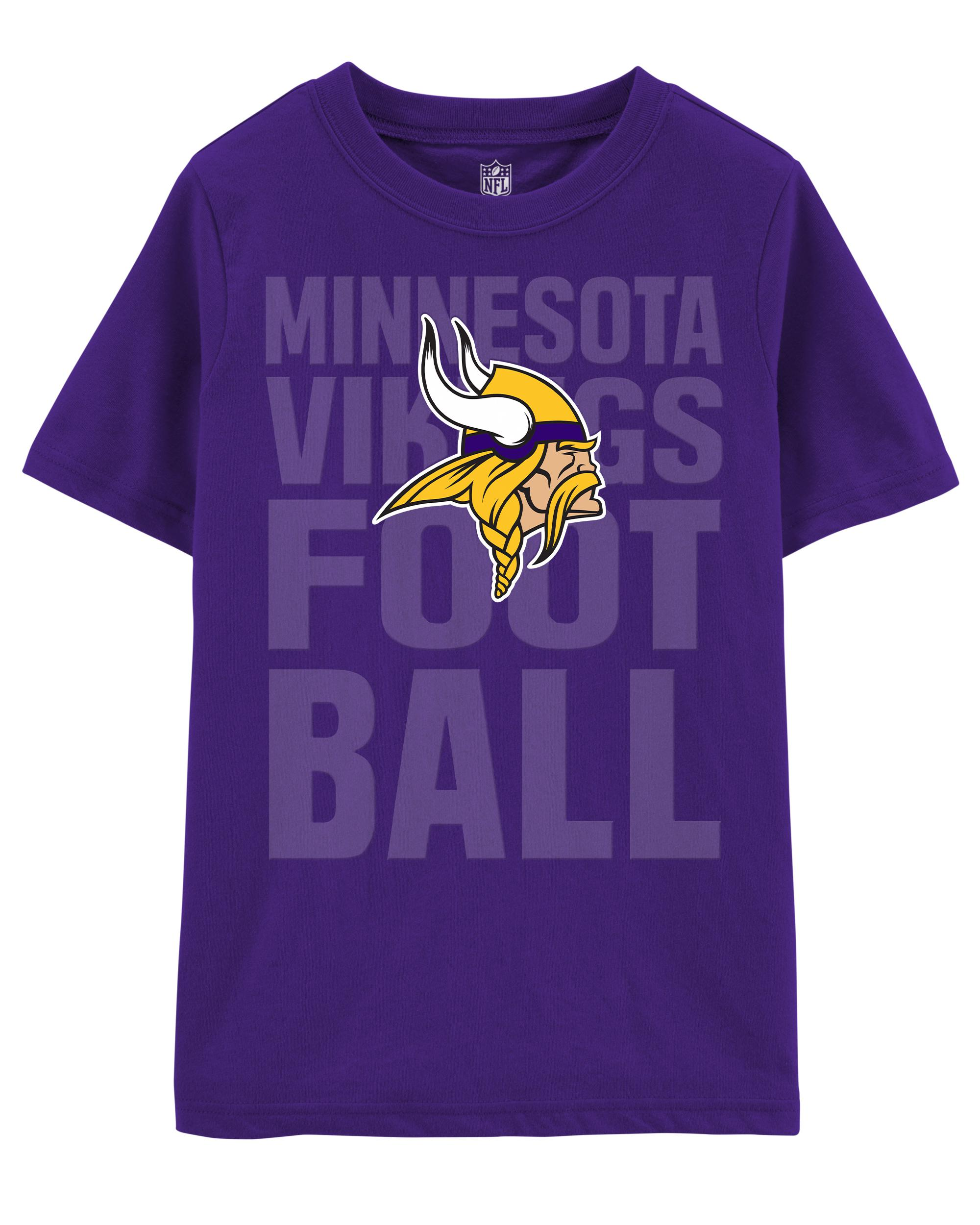 buy popular e398b f5491 NFL Minnesota Vikings Tee | carters.com