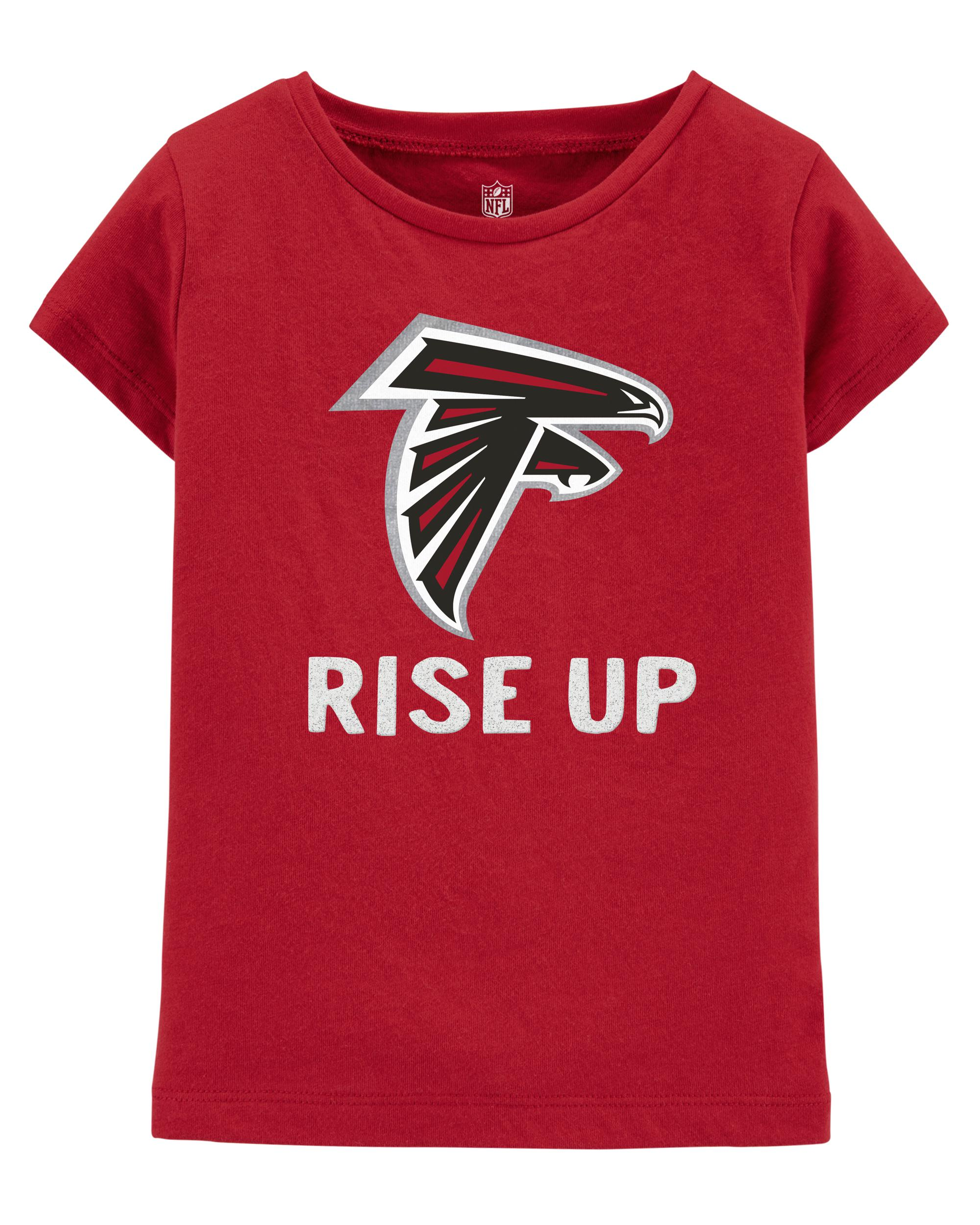official photos e9081 60027 NFL Atlanta Falcons Glitter Tee   carters.com