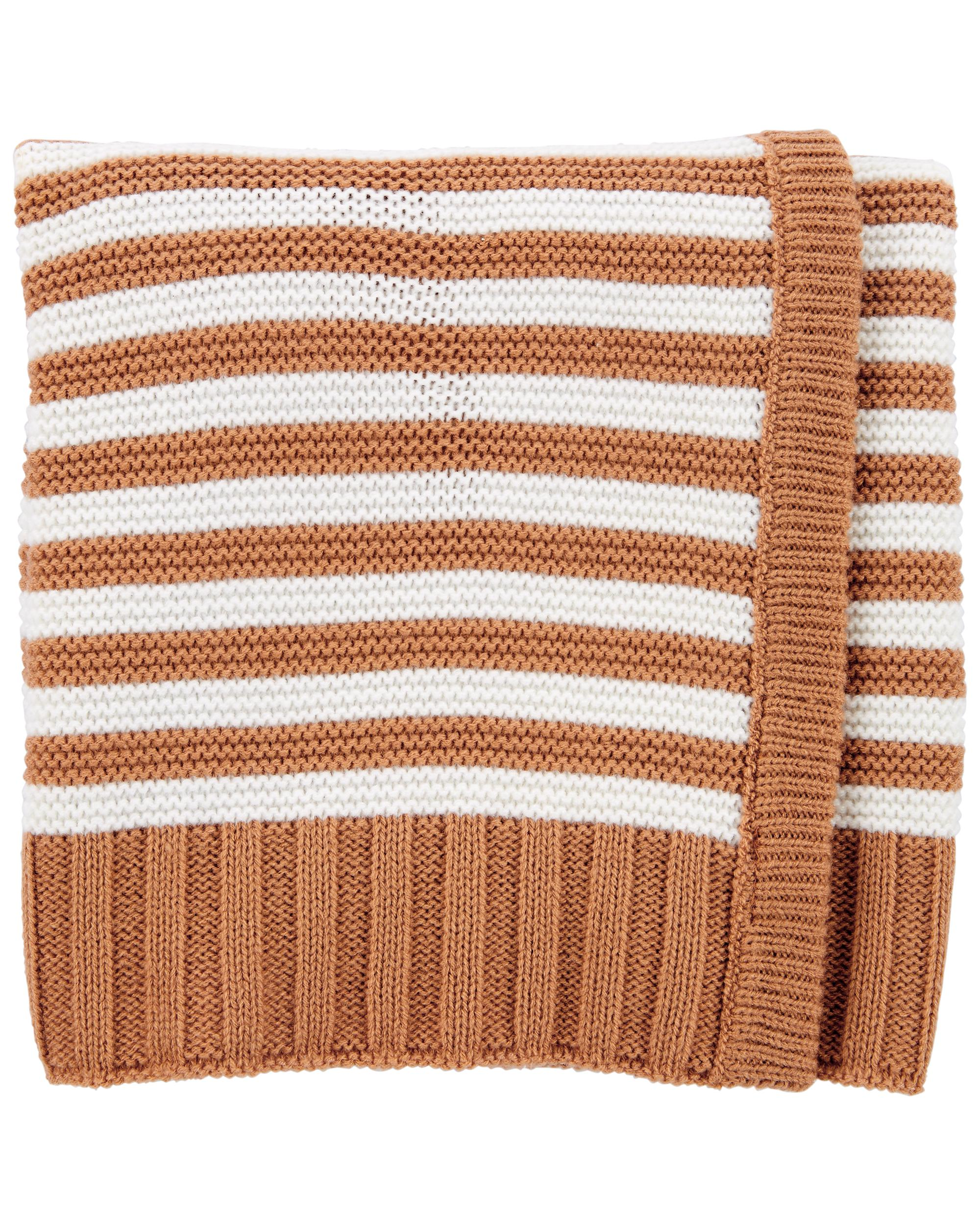 Carters Striped Baby Blanket