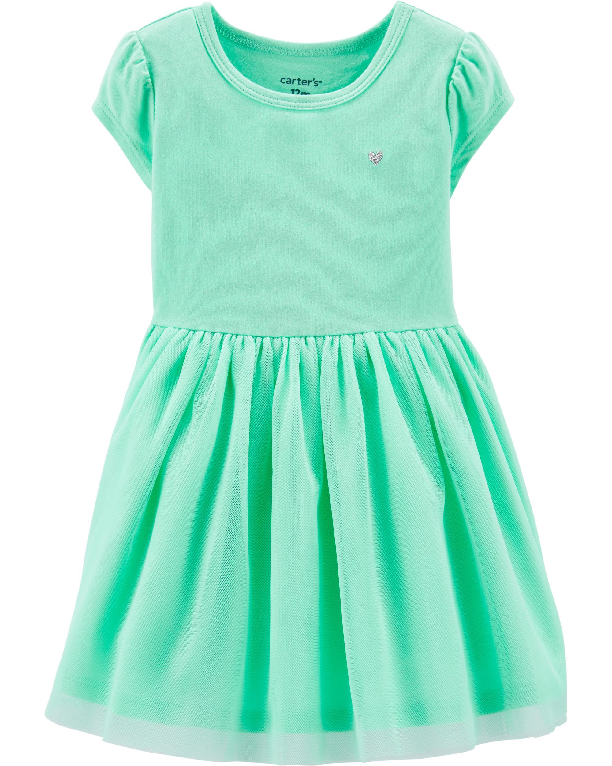 734de9e116730 Tutu Jersey Dress | carters.com