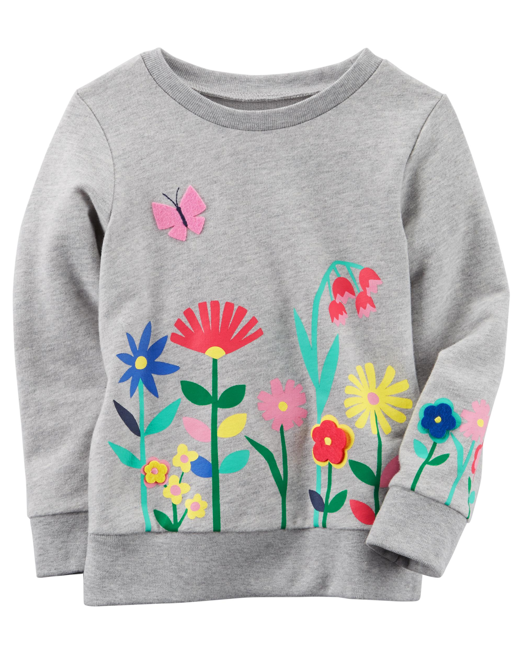 a446184623 Floral Sweatshirt | carters.com