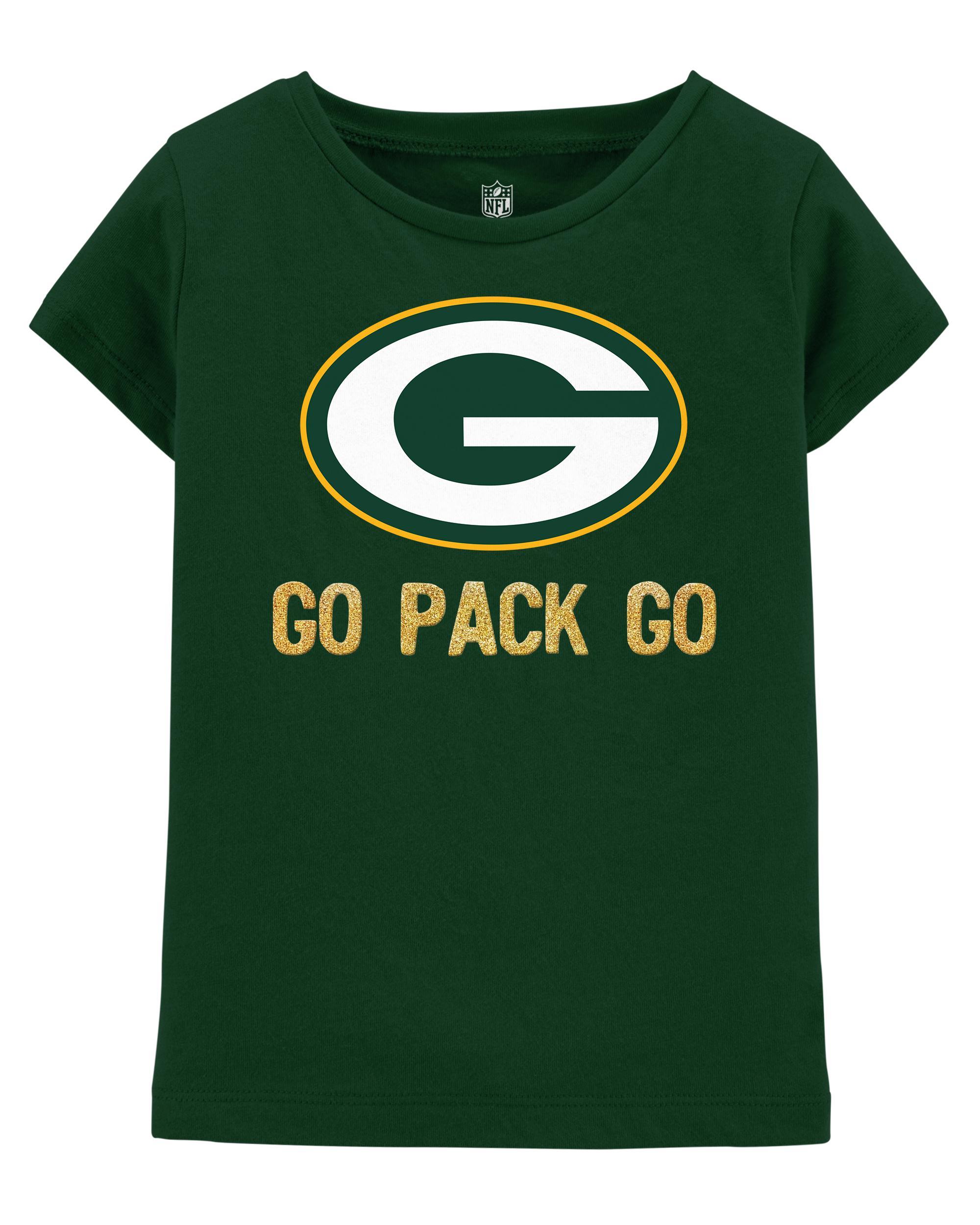 finest selection 0d885 ecebf NFL Green Bay Packers Glitter Tee | carters.com