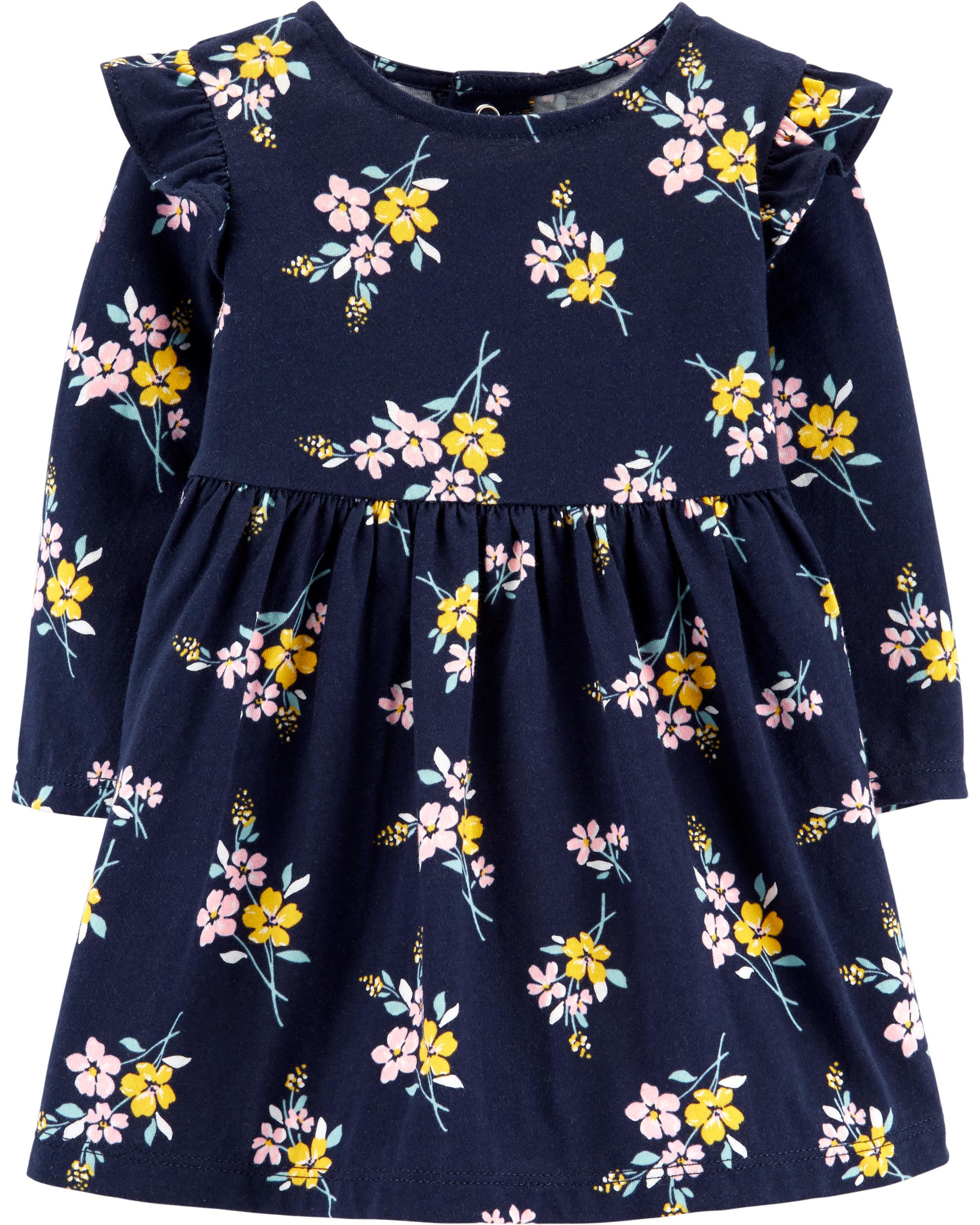 cd61f3146c9a0 Floral Jersey Dress | carters.com