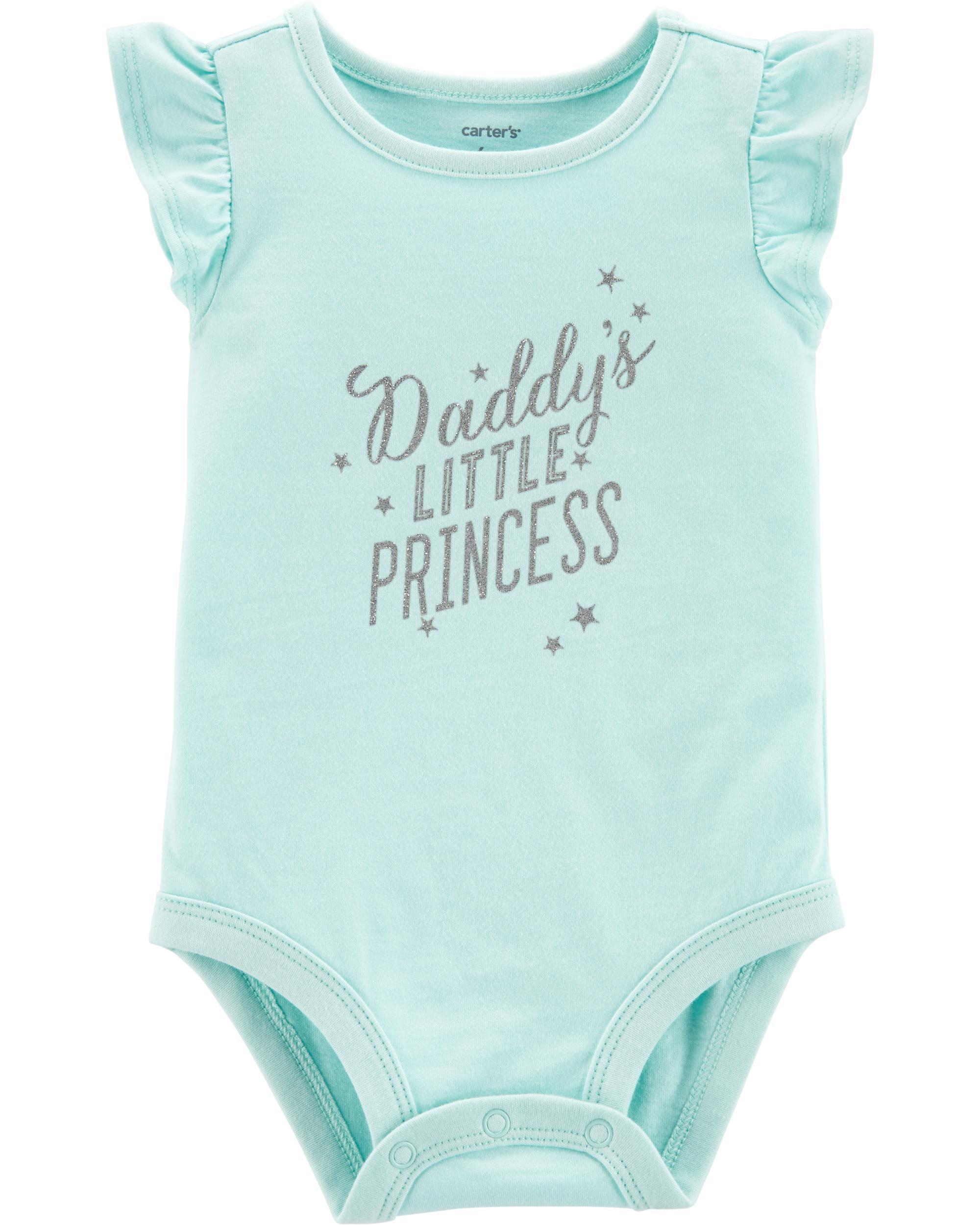 368e30c64f9 Daddy's Little Princess Collectible Bodysuit | carters.com