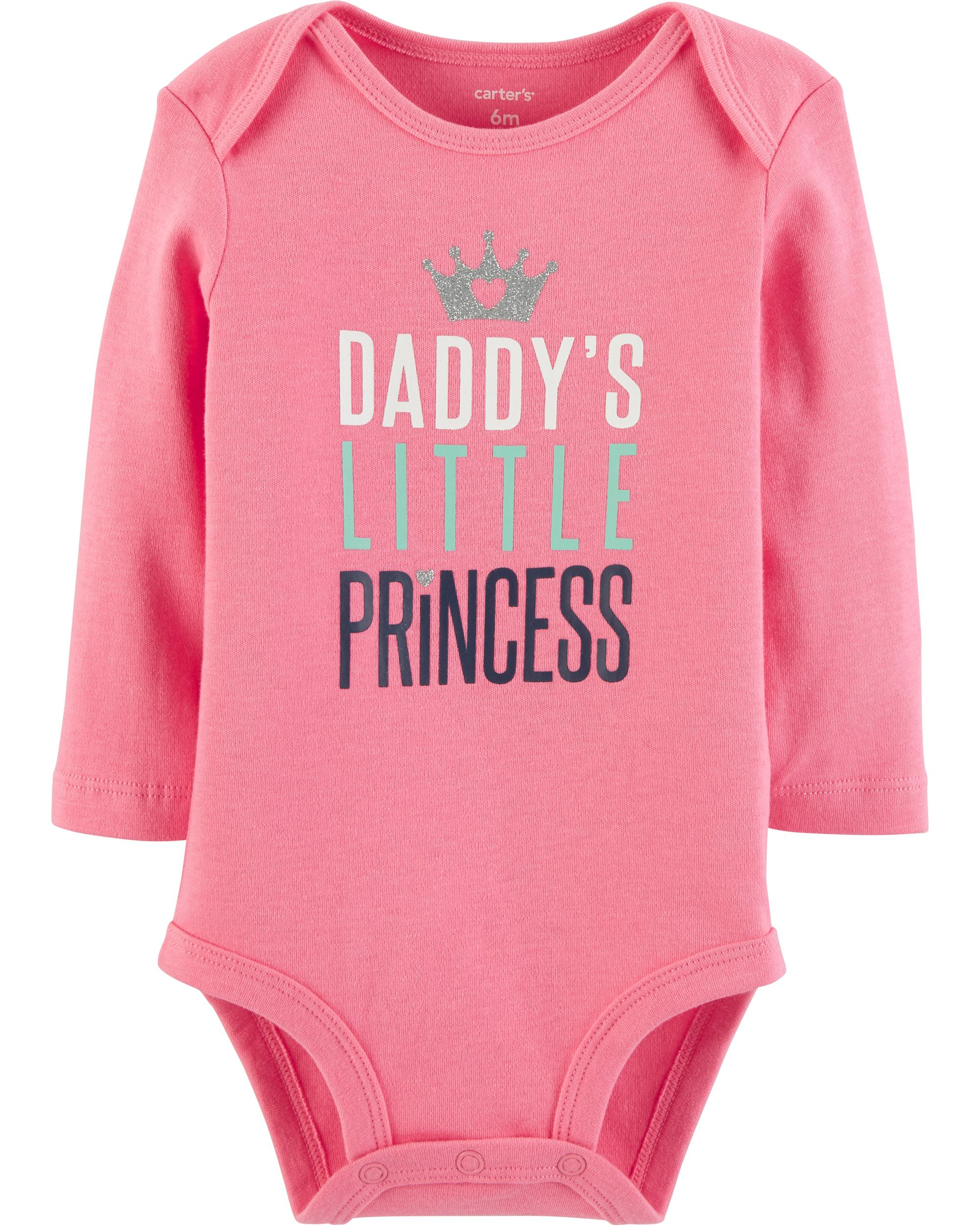 72b484ab65fa9 Daddy's Little Princess Collectible Bodysuit   carters.com